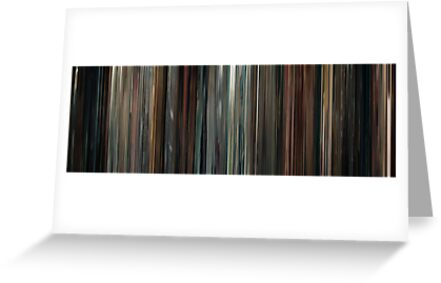 Moviebarcode: Drive (2011) by moviebarcode