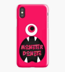 MoNsTeR DoNuTs CoLoR iPhone Case