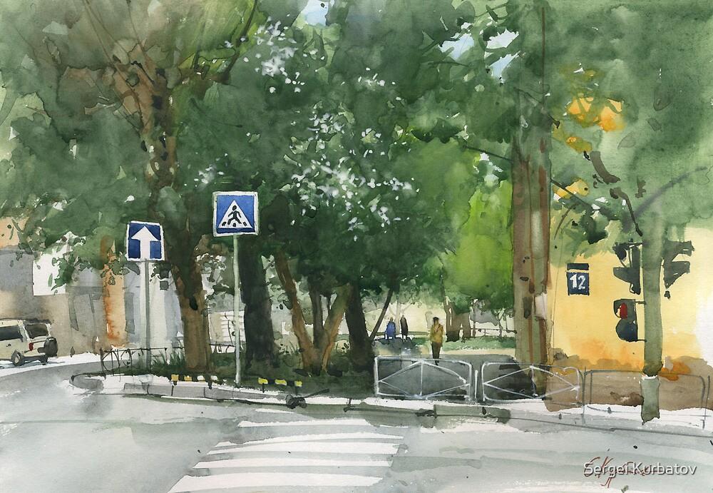 Gorky street by Sergei Kurbatov