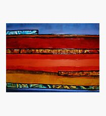 Earth Layers Photographic Print