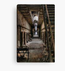 Corridor of Incarcerate Decay Canvas Print