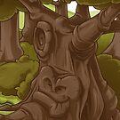 Happy Tree by Sven Ebert