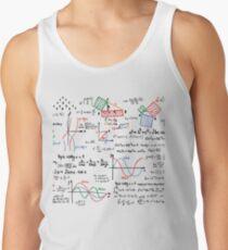 Mathematics Formulas Numbers  Tank Top
