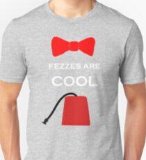 i wear a fez now Unisex T-Shirt