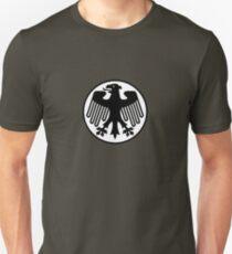 Retro German Football Badge Unisex T-Shirt