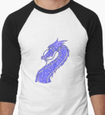 Dragon Swirls Blue  T-Shirt