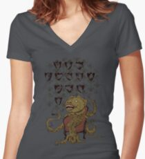 Hand Hunter Women's Fitted V-Neck T-Shirt