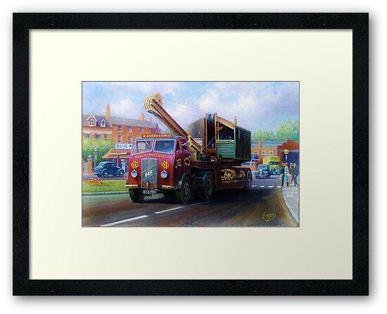 ERF low-loader by Mike Jeffries