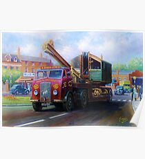 ERF low-loader Poster