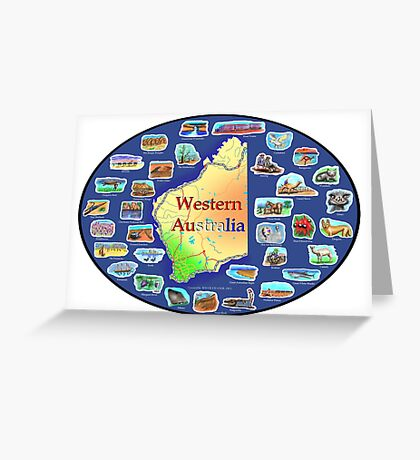 Western Australia Greeting Card