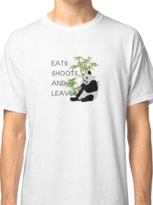 Eats, Shoots and Leaves Classic T-Shirt