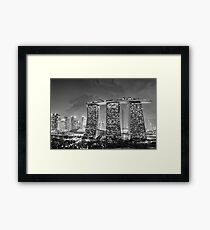 Marina Bay Sands - Singapore Framed Print