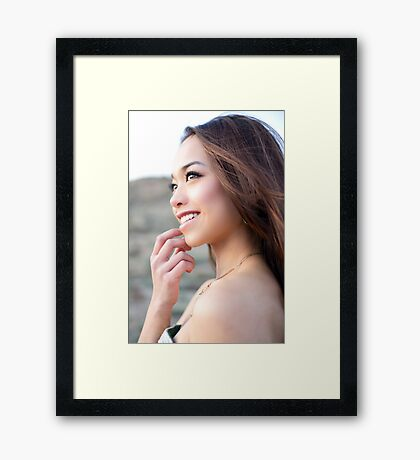 expressions Framed Print