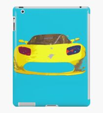 Tesla Pop Art iPad Case/Skin