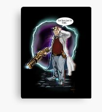 Time Madness Canvas Print