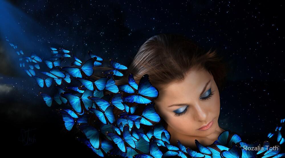 Like a Butterfly by Rozalia Toth