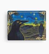 Currawongs Canvas Print