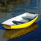 The Yellow Boat by Fara