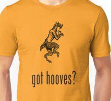 got hooves? Black Unisex T-Shirt