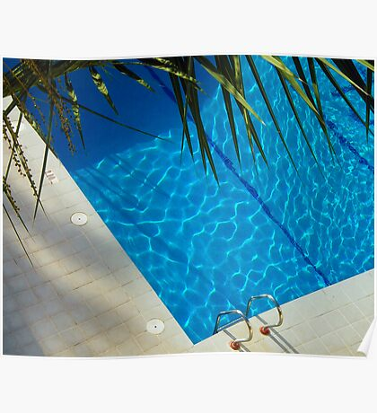 An inviting pool Poster