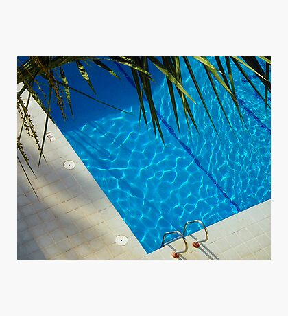 An inviting pool Photographic Print