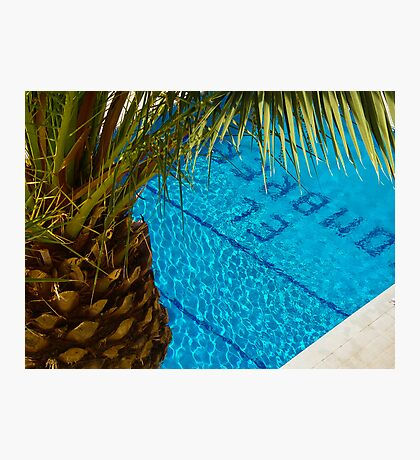 The pool at El Sombrero Photographic Print