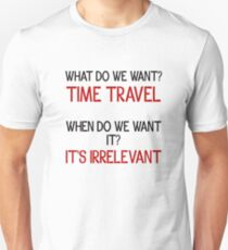 Time Travel Protest Unisex T-Shirt