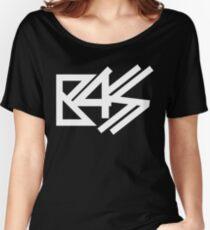 BASS (white)  Women's Relaxed Fit T-Shirt