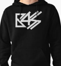 BASS (white)  Pullover Hoodie