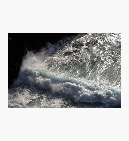 Crab Island waves Photographic Print