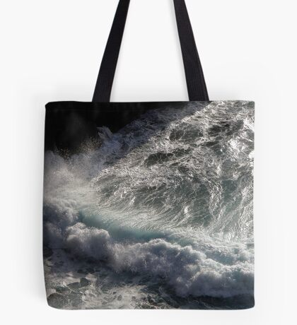 Crab Island waves Tote Bag