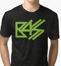BASS (neon green)  Tri-blend T-Shirt