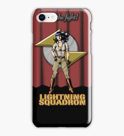 Lightning Squadron (Katie Galaxy) iPhone Case/Skin