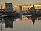 Waterfront sunrise by awefaul