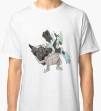 Black Kyurem Watercolour Classic T-Shirt