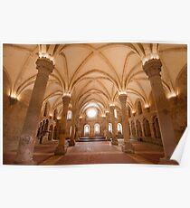 refectory. Alcobaça Monastery Poster