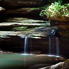 Falls At Old Man's Cave by Sam Warner