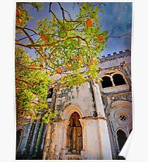 Claustro. Mosteiro Poster
