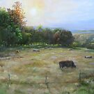Grazing in the tall grass by Jeff Jackson