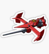 Swordfish in Space Sticker
