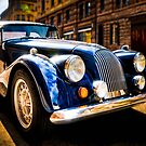 The Morgan Plus 8 in backlight by wulfman65