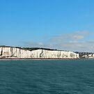 Last cliffs of the United Kingdom near Dover by kirilart