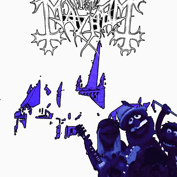 Buttress O'Kneel - The Electric Mayhem... by IWML