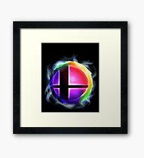 Smash Ball Framed Print