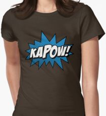 Kapow! Womens Fitted T-Shirt