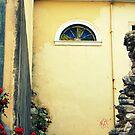 Corner in Corfu Old Town by DoreenPhillips