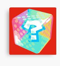 Mario Kart Item Block Canvas Print