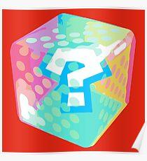 Mario Kart Item Block Poster