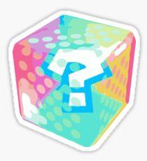 Mario Kart Gegenstandsblock Sticker