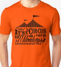 It's A Circus Slim Fit T-Shirt